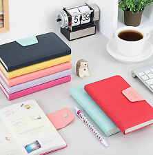 New Ardium Pastel Diary Undated Journal Planner Organizers_Synthetic Leather