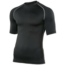 Rhino Base Layer Top Adult Unisex Short Sleeve Sports Compression Body Fit Top