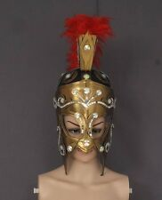 Spartan Ancient Roman Warrior Helmet Headdress Costume Outfit