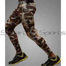 Mens Military Sport Compression Base Layer Pants Running Gear Long Shorts Take 5