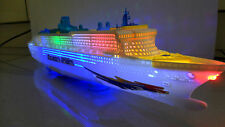"20"" CRUISE SHIP - OCEAN LINER ELECTRIC TOY WITH LIGHTS SOUNDS -BOY GIRL - BOAT"