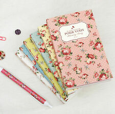 New Pour Vous Blooming MINI Diary Undated Planner Organizers_PVC Cover+Ball Pen