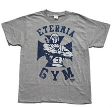 Eternia Gym He-Man Official Licensed Authentic Adult T-Shirt She-Ra