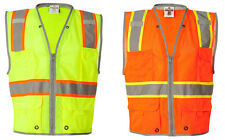 ML Kishigo Brilliant Series Heavy Duty Class 2 Vest , Reflective (1510-1511)