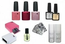 CND Shellac Complete Starter Set Kit - Includes Lamp, Top, Base, Colours + more