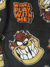 TAZ Tazmanian DEVIL Bugs Looney Tunes New MEN'S Fleece LOUNGE Sleep Pajama PANTS