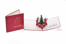 NEW 3D Pop up Christmas Cards 1053 RRP: $12.99