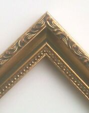 Furniture Quality Picture Frames for Paintings Wood Gold Tear drop