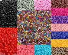 Wholesale 1000pcs Cezch Glass Mini Seed Beads Jewelry Finding Spacer Beads 2mm