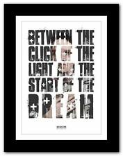 ❤  ARCADE FIRE No Cars ❤ song lyric typography art poster print - A1 A2 A3 or A4