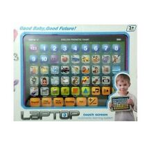 IPAD LAPTOP COMPUTER EDUCATIONAL TOY TABLET TODDLER CHILD BOY KIDS LEARNING GAME