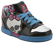 *NEW* MONSTER HIGH Sneakers Athletic Glittery Hi-Top Shoes,  Sizes 10 - 3