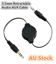 3.5mm AUX Cable Auxiliary Retractable Cord iPod iPhone mp3 Car Audio Universal