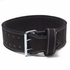 Powerlifting Belt-Double Prong Buckle -10mm - Strongman NEW