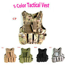 ACU CP Tactical Vest Protective Gear/Nylon Outdoor Airsoft Black Green Tan Vests