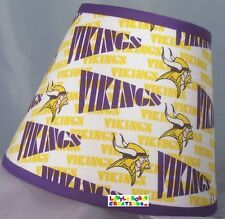 NFL New Minnesota Vikings Lamp Shade (All Handmade After Order is Placed)