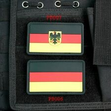The German Flag  Tactical Military Morale 3D PVC Velcro Patch