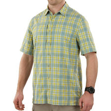 5.11 TACTICAL COVERT MENS SHIRT PERFORMANCE SHORT SLEEVE CONCEALED CARRY SULFUR