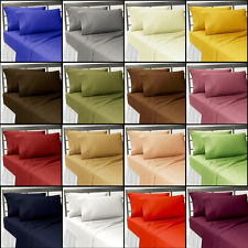 AMAZON.COM SHAM  BEDDING COLLECTION  SHEET SET SOLID 1000TC100%EGYPTIAN COTTON