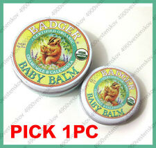 Badger Baby Balm Organic Chamomile Calendula gentle soothing for sensitive skin