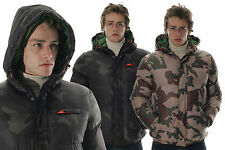 Mens Authentic Fresh Winter Jacket - Camo Print