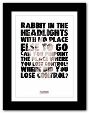 ❤ The Courteeners LOSE CONTROL -  poster print -  A1 A2 A3 or A4