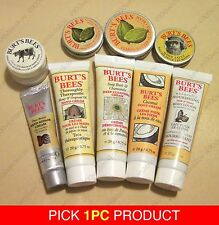 PICK 1pc Burt's Bees Travel size hand body foot Cream face cleansing cream