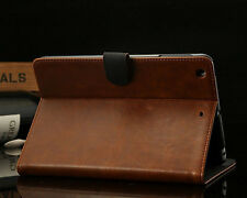 Retro Bussiness Leather Case For Apple iPad Air Accessory Cover & Screen Film