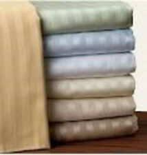 """800TC 1PC Fitted sheet 12""""Deep Pocket 100%Egyptian Cotton Choose Size & Color"""