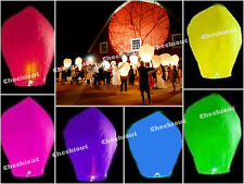20/40/80/200 Chinese Fly Sky Paper Kongming Floating Wishing Lantern Wedding