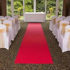 Eliza Hollywood Red - Very Long Cheap Wedding Aisle Carpet Runner For Church