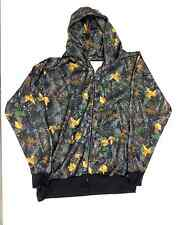 New Timber Zipper Hooded Camoflauge Sweatshirt LT - 10XLT Big Tall Sovereign USA