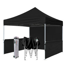 10x10 Easy Pop Up Canopy Tent Commercial Flea Market Fair Craft Trade Show Booth