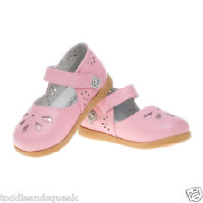 Little Blue Lamb Girls Infant Pink Petal Leather Toddler Shoes