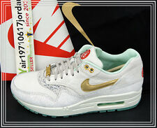 2014 Nike Wmns Air Max 1 YOTH QS Year of the Horse Light Boon Gold 649458-001