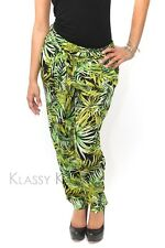 Bella Marcella tailored print pants ~ casual trousers women lady +YOUTUBE