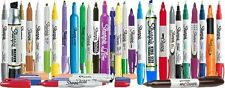 AUTHENTIC SHARPIE PENS SYLO GRIP PEN HIGHLIGHTER PERMANENT MARKER NEW PACK OF 4