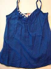 Urban Outfitters Lux Brand Womens Sleeveless Top sz S M L Dk Royal Blue NWT