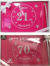 Birthday Party Signature Guest Book Decorations 18th 21st 30th 40th 50th 60th 70