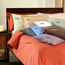1000TC Bed Room 2-Piece Pillow Cases 100% Cotton--All 25 Pillow Color's & Sizes