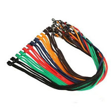 (1) Fashion Eyeglass Cord Colorful Nylon Strap Holder Necklace  US SELLER!
