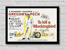 Vintage To Kill A Mockingbird  Movie Film Poster Print Picture A3 A4