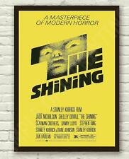 Stanley Kubricks The Shining Movie Film Poster Print Picture A3 A4