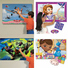 CHILDRENS THEMED PARTY GAMES TRADIONAL PIN THE