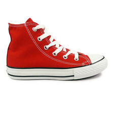 Youths Converse Red Chuck Taylor All Star Hi Trainers