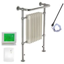 SOLAIRE RAMSEY Traditional Victorian Heated Towel Rails Radiators Warmers