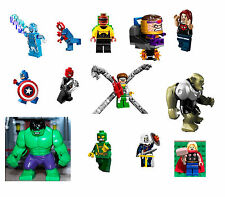 LEGO Marvel Super Heroes Minifigures- UR CHOICE -Avengers Assemble Ultimate