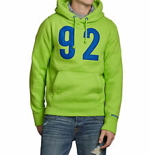 Abercrombie & Fitch Men Buell Mountain Hoodie Moose Sweater Jacket - $0 Shipping