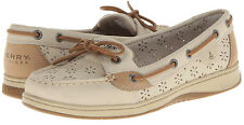 "Sperry Top Sider Women's NEW ""Angelfish"" 9265901 Oat Cutouts Boat Shoes SIZES"