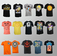 Licensed Dragon Ball Z Symbols Goku Saiyan Frames Logo All T-Shirt S-2XL NEW